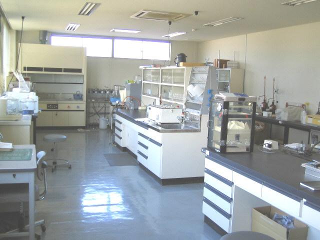 水質試験室
